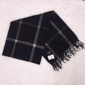 Jos. A. BANK cashmere reversible scarf oz